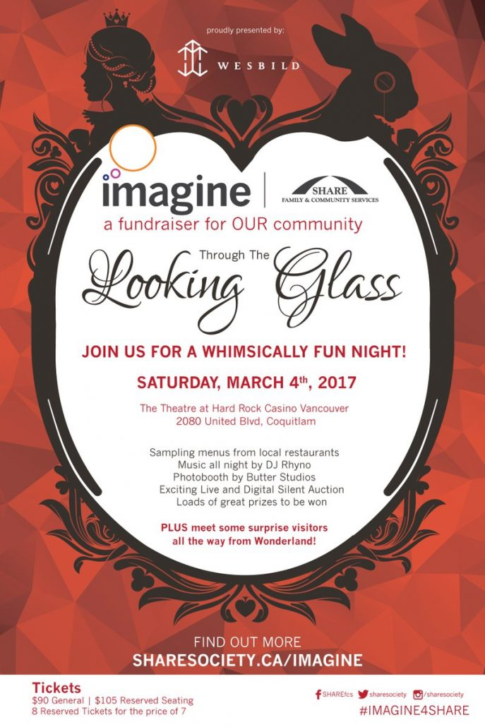 SHARE Imagine Gala Through The Looking Glass